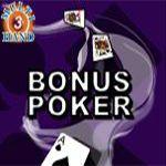 Bonus Poker (3 Hands)
