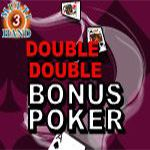 Double Double Bonus Poker (3 Hands)