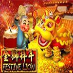 Festive Lion